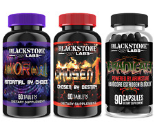 Blackstone Labs AbNORmal / Chosen 1 / Eradicate STACK - Build Lean Muscle - NEW!