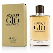 Giorgio Armani Acqua Di Gio Absolu 4.2oz 125ml  Eau de Parfum for Men Original
