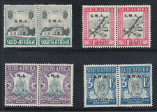 South West Africa Sc B1-B4 MLH. 1935 Voortrekkers Monument semi-postals, VLH