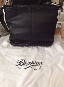 brighton shoulder bag Blk Brand NEW W/T$240