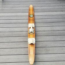 "Rare VTG Dick Pope Jr Cypress Gardens Water Ski 67.5"" Lake House Wall Hanger"