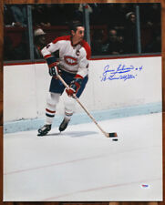 Jean Beliveau SIGNED 16x20 Photo +13 Time All Star Canadiens PSA/DNA AUTOGRAPHED