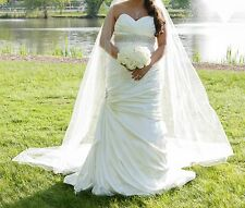 Maggie Sottero Wedding Dress - Size 16 Solid Ivory