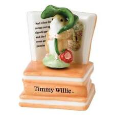 Beatrix Potter Border Fine Arts Timmy Willie Musical Figurine New Boxed A26152