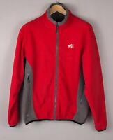 Hirse Herren Reißverschluss Fleece Wasser Resist Jacke Pullover Größe L BCZ389
