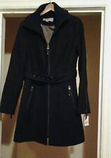 NEW MARC  NEW YORK BY ANDREW MARC  SYBIL WOOL TWILL WOMENJACKET BLACK SZ 10 $340