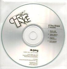 (AI35) Chris Lake, If You Know ft Nastala - DJ CD
