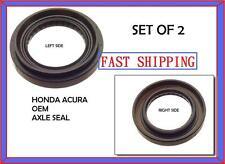 2PCS- HONDA CIVIC ACURA INTEGRA OEM AXLE  SEALS L & R - JF-46530 / JF-46474