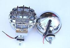 2x chiaro 4x4 OFFROAD BULL BAR TETTO Nebbia Spot Luci lamps168mm NUOVO