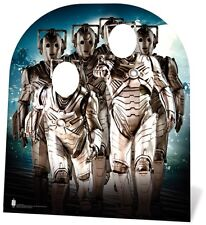 Cyberman Child Size CARDBOARD CUTOUT STAND-IN kids Doctor Who party decoration!