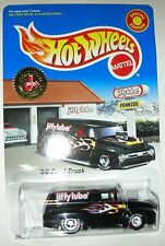 Black with flames 1956 Ford Truck Jiffy Lube Special Ed. Hot Wheels 1:64 scale