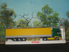 Wiking Ho Scale #510 0436 Pritshen-Sattelzug Scania 144