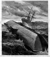 ABANDONMENT OF CLEOPATRA'S NEEDLE IN THE BAY OF BISCAY, SHIPS, VESSEL