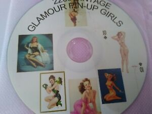 2200 Vintage Glamour Pin-Up Girls CD ROM Card Making Cd