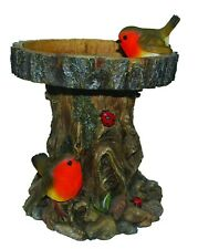 Vivid Arts Bird Feeder with Robins Garden Decoration