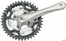 Sugino Impel 150X 170mm 28-38-48 7/8-Speed Crankset Silver Arms