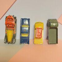Husky Toys Models Volkswagen Pick Up, Land Rover Buick Electra, Chitty Bang Bang