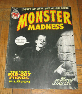 MONSTER MADNESS # 1  1972  BY  STAN LEE