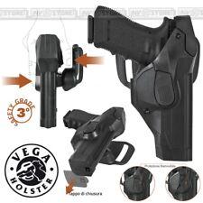 Funda VEGA HOLSTER CAMA DCH8 con doble seguro en POLÍMERO para Beretta 92/98
