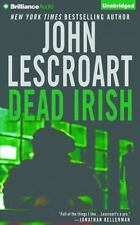 DEAD IRISH unabridged audio book CD by JOHN LESCROART - Brand New 9 CDs 10 Hours