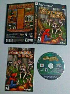 Cabela's Dangerous Hunts 2 (Sony PlayStation 2, 2005) Complete TESTED
