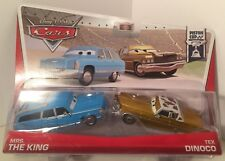 CARS - MRS THE KING & TEX DINOCO - Mattel Disney Pixar