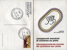 1971 - Varese - Campionati Mondiali di Ciclismo su Pista - Cartolina +annullo
