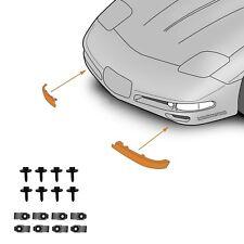 C5 Corvette Left + Right Spoiler W/ Hardware  Fits: All 97 thru 04 Corvettes