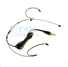 Double Hook Black Headset Mic YAM HM1-C4W Headworn Mic For Sony Wireless