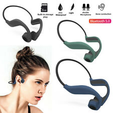 Bone Conduction Bluetooth Wireless Stereo Headset Sport Earphone with 8GB Memory