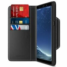For Samsung Galaxy Note 8 Case Slots Luxury PU Leather Wallet Protective Cover