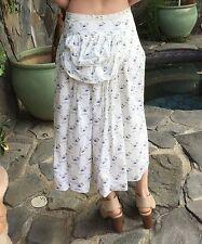 Paul Harnden Shoemakers Cotton Bustle Skirt SzM Orig:$2935