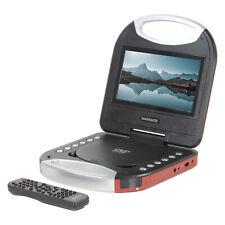 Magnavox MTFT 750-RD portátil 7 pulgadas reproductor de DVD/Cd Con Control Remoto En Rojo