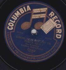 Banda Española on 78 rpm Columbia C942: Himno repulicano de Costa Rica