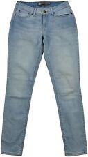 Levi's Bold Curve Femme Skinny Jeans taille 28x32 bleu clair mi montée Fermeture Éclair Fly
