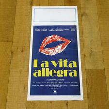 LA VITA ALLEGRA locandina poster La vida alegre Antonio Resines Ana Obregon p93