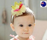 Flower Girl Kid Child Baby Shower birthday Party Crown Tiara Hair Head Band Prop