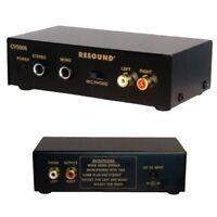Audio Mini Verstärker Stereo Mono 6,3mm Klinke Mikrofon Cinch L R Anschluss