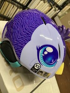 * Giro launch plus snow helmet purple penguin XS