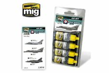 AMMO OF MIG A.MIG-7211 Acrylic Color French Modern Jets 4x17ml