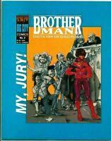 Brother Man Dictator Of Discipline Comic Book #2 FREE S/H Big City Comics