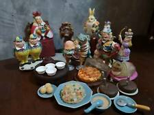 Alice's in Wonderland Dollland Mini figure Set of 8 With Accessories