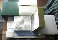 LENOX The NATIVITY 3 ANIMALS Set Bisque NEW in BOX w/ COA Bone China White