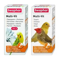 Beaphar Caged Aviary BIRD MULTI VITAMIN DROPS Liquid Supplement 12 Vitamins 20ml