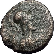 SIDE in PAMPHYLIA 25BC ATHENA NIKE EAGLE Authentic Ancient Greek Coin i59734