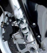 Motorrad Gabel Aufkleber Grafik Skul Aufkleber Für Harley Touring Dyna und mehr