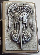 ZIPPO Feuerzeug Death Angel Emblem Emblem Todesengel 2002999  Neu & OVP