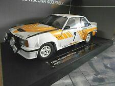OPEL Ascona B 400 Rallye Schweden 1980 #7 Kulläng Euro Team Sunstar RAR 1:18
