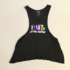 Star Wars Tank Top Women's Size M Color Black Rayon