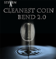 Download Video - Cleanest Coin Bend 2.0 by Steven X Magic Trick Close Up Street